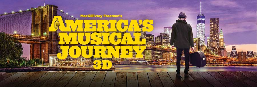 America's Musical Journey: Lights Up Sound Down 2D Billboard Image