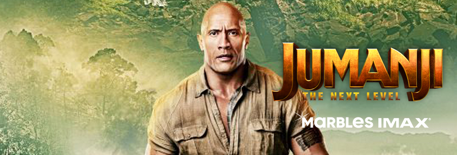 Jumanji: The Next Level Billboard Image