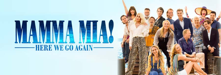 Mamma Mia! Here We Go Again Billboard Image