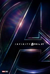 Avengers: Infinity War 3D poster