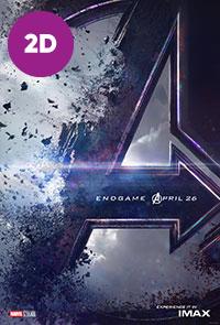 Avengers: Endgame 2D poster