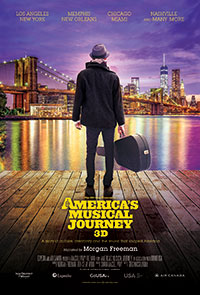 America's Musical Journey 3D poster