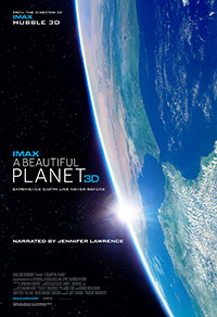 A Beautiful Planet 3D poster