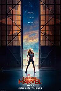 Captain Marvel 2D poster