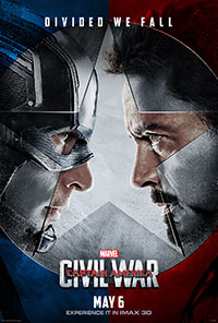 Captain America: Civil War 3D poster