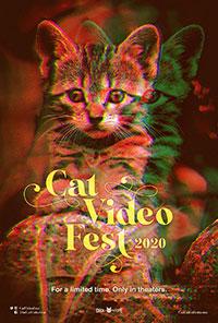 CatVideoFest 2020 poster