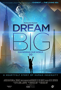 Dream Big 3D poster