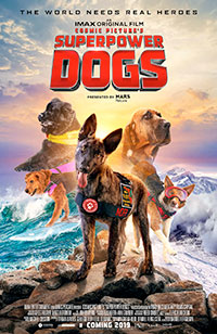 Superpower Dogs 3D poster