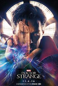 Doctor Strange 3D poster
