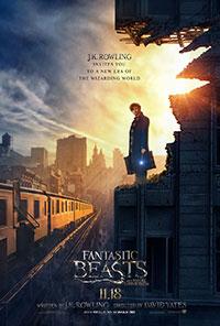 Fantastic Beasts 2D poster