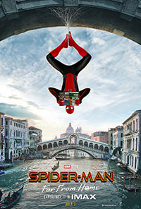 Spider-Man: Far From Home 2D poster