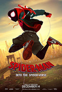 Spider-Man: Into the Spider-Verse 2D poster