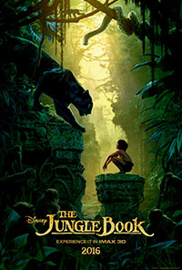 The Jungle Book 3D poster