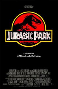 Jurassic Park 2D poster