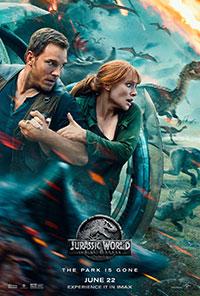 Jurassic World: Fallen Kingdom 2D poster
