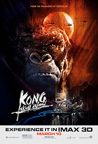 Kong: Skull Island 3D poster
