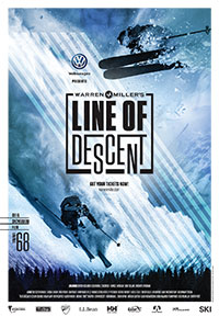 Volkswagen presents Warren Miller's Line of Descent poster