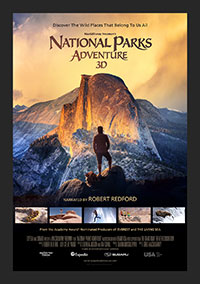 National Parks Adventure 3D poster