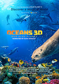 Oceans: Our Blue Planet 3D poster
