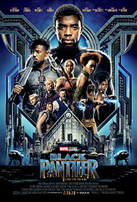 Black Panther 3D poster