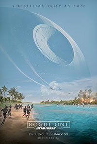 Rogue One 3D poster