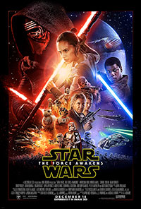 Star Wars: The Force Awakens 3D poster