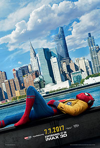 Spider-Man: Homecoming 3D poster