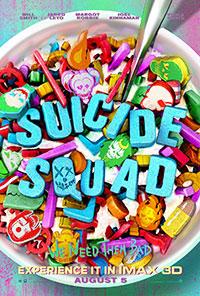 Suicide Squad: 3D poster