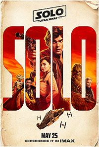 Solo: A Star Wars Story 3D poster
