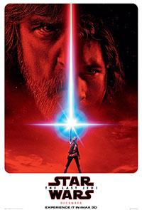 Star Wars: The Last Jedi 2D poster