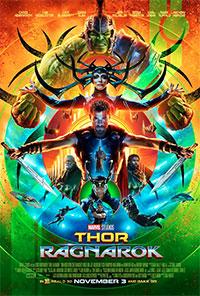 Thor: Ragnarok 3D poster