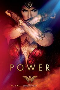 Wonder Woman 3D poster